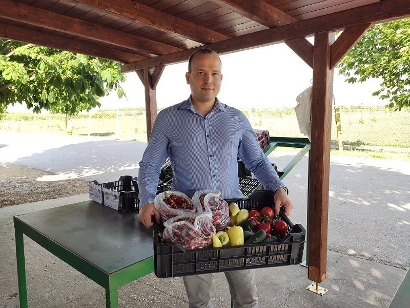 Nem csak a piacon juthatunk hozzá a friss termelői portékákhoz