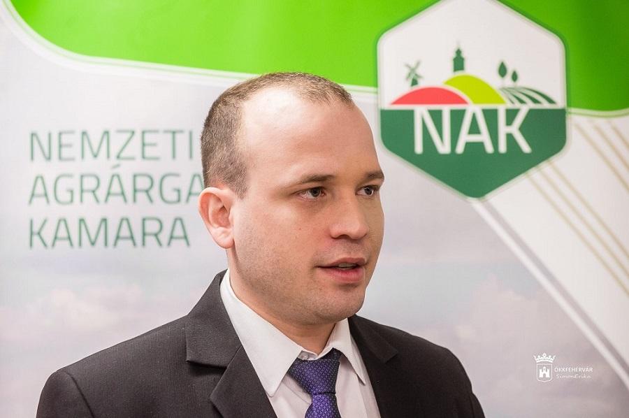 Varga Imre István, a NAK Fejér megyei szervezetének elnöke