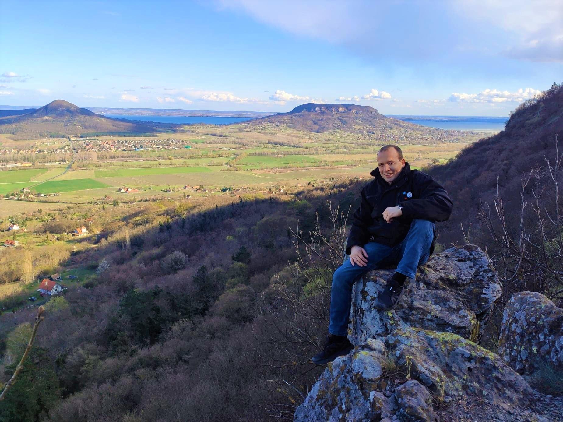 Csodás panoráma a Szent György hegyről