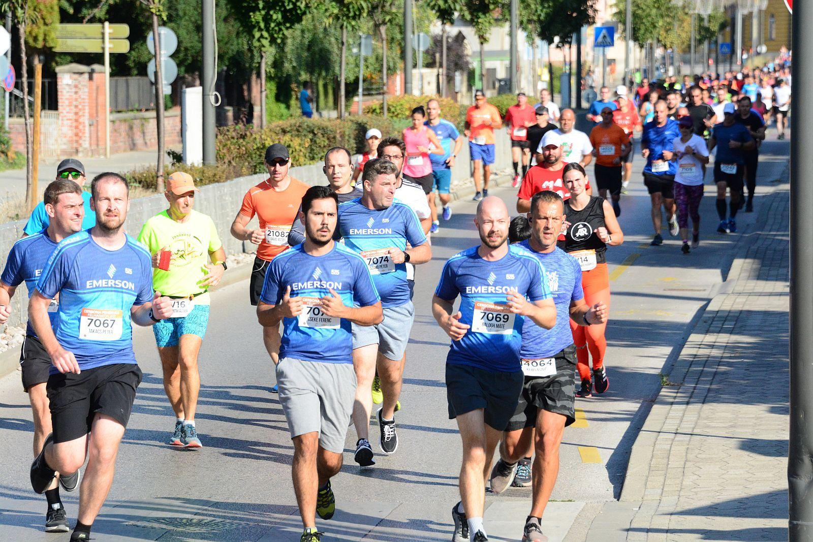 Cerbona Fehérvár Félmaraton 2021 7km